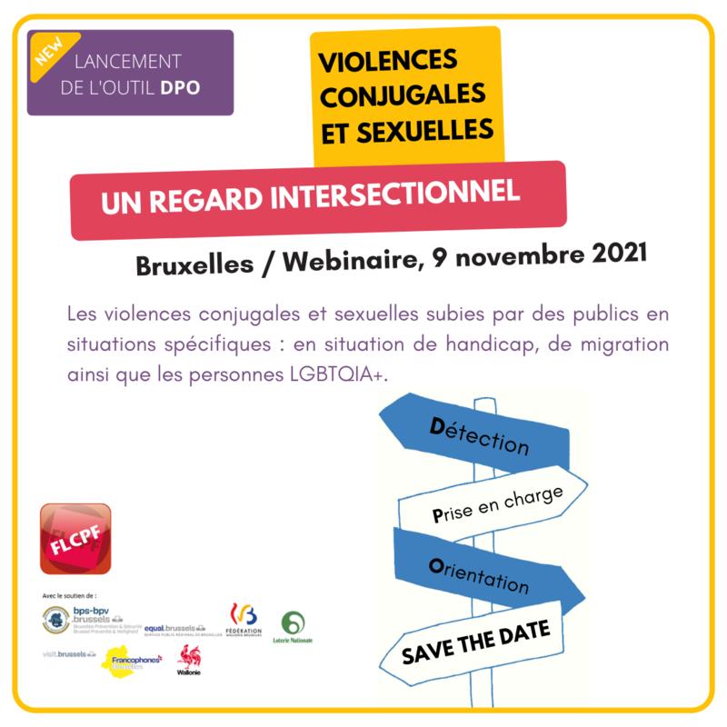 VIOLENCES CONJUGALES ET SEXUELLES : UN REGARD INTERSECTIONNEL – 9 novembre 2021