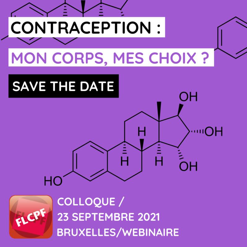 COLLOQUE CONTRACEPTION : MON CORPS, MES CHOIX ? – 23 septembre 2021